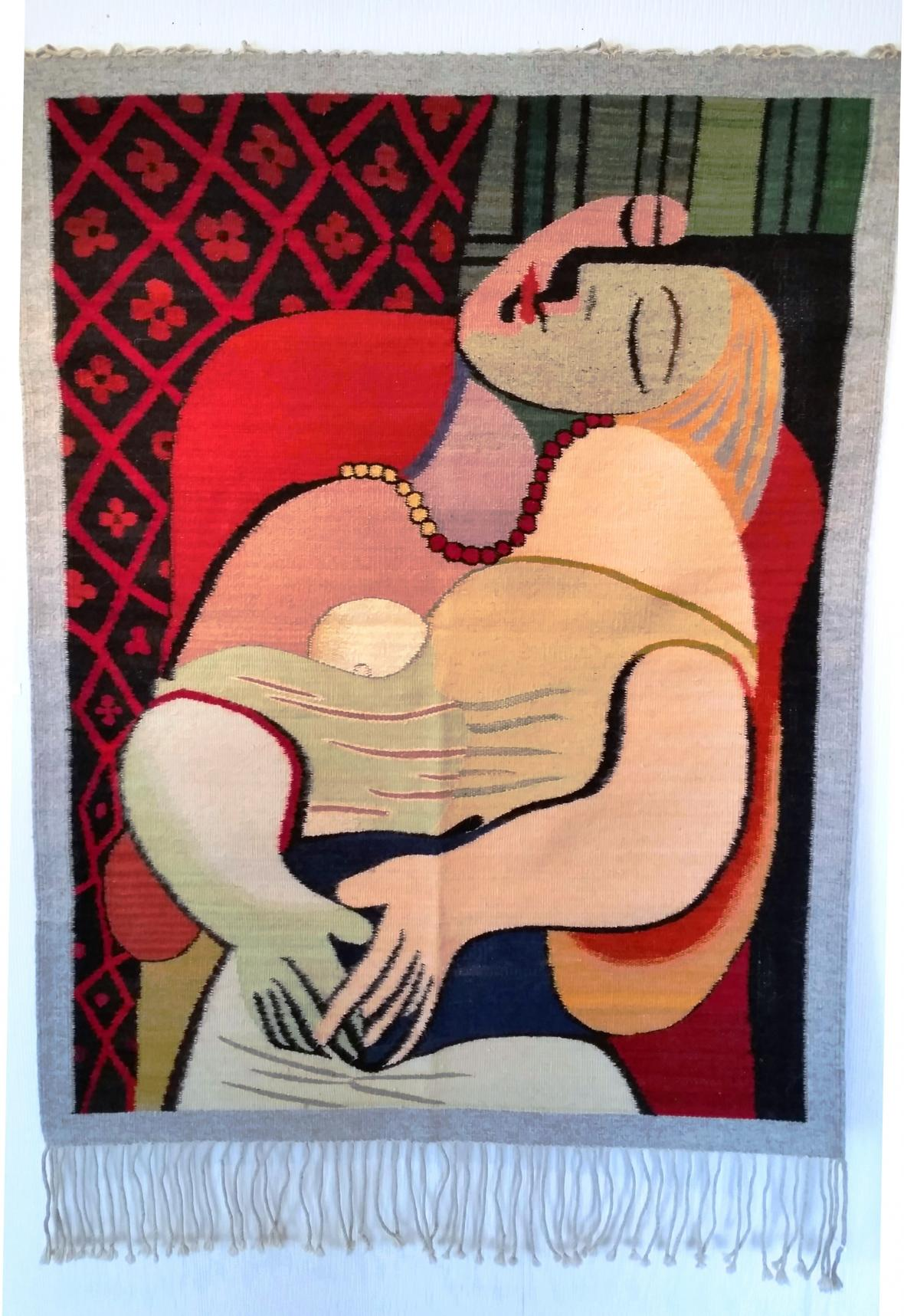 Mujer, (Woman), after Picasso